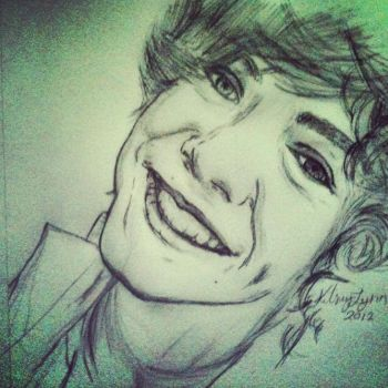 Harry Styles Pencil Art by Toko-Toph-Loves-Zuko