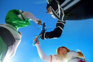 SAO/ALO Cosplay ~ We will survive! by NidameSofia