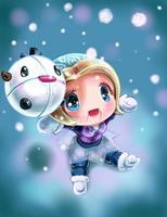 Chibi Winter Wonder Orianna by Lighane