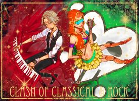 Clash of Classical and Rock by cyblix
