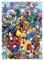 Marvel vs capcom 3 _fanart by zxchriszx