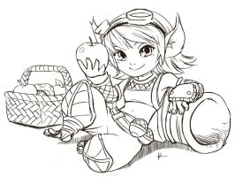 New Visual Tristana by foluthewizard