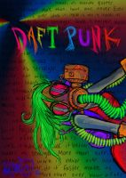 Number 6: Daft Punk by IrkenVampyer777