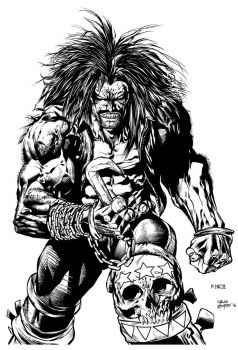 Sample inks LOBO pencils by David Finch by Nanquilizador