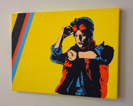 Marty McFly - Back to the Future by imdaniel-popart
