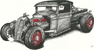 Hot Rod Coloured by Tullen666