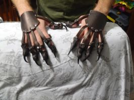 Leather talons by nightraven1313us