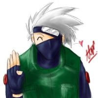 Kakashi-sensei says 'YO' by ShiroiNeko-sama