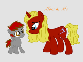 Mom and Me by portaljumper339