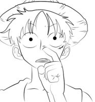 how to pick your nose by Luffy by One-Piece-FanClub