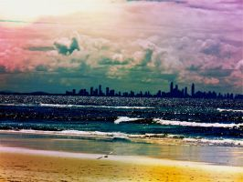 A Gold Coast Evening by ywsdavey