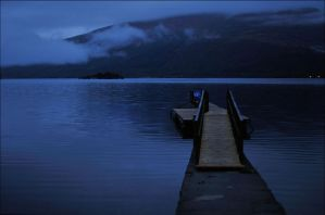 Loch Lomond At Dawn by tamaskatai