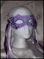 Lilac Fairy mask by PurrpleCatt