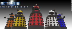New Paradigm Daleks by ComputerGenius