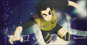 Firma: Rock Lee... WTF! by jazyuzumaki