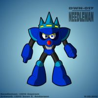 Mega Man 3 - Needleman by TheRealSneakers