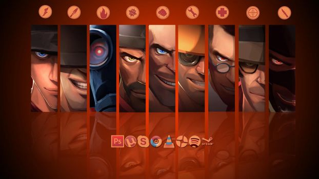 Team Fortress 2 pack 1.0 by TBKnutsen