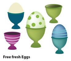 Fresh Eggs by melemel