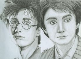 Blast fr. d Past: Harry Potter by MarshiMallow