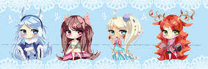 Season adoptable AUCTION *closed* points/paypal by Mikabunni