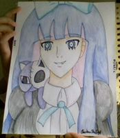 Drawing of Stocking by Clairbanthedoll