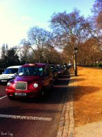 London Taxi by RacheLavy
