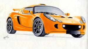 Lotus Exige S by AceAndrew7
