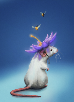 Mouse from dream by cgartMan5ON