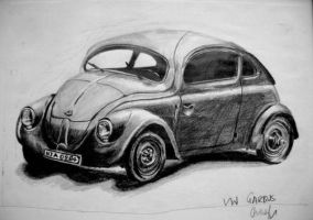 VW Garbus by Kardimera