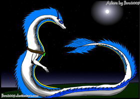 Adara The Dragon 100 th deviation by Ikro2009