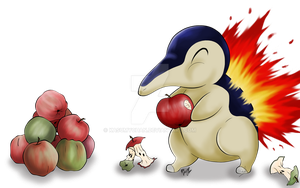 Cyndaquil by Kasumy-Chan
