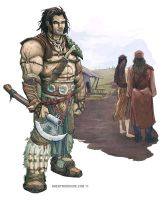Barbarian by BrentWoodside