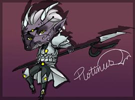 Chibi Plotinus by thedandmom