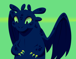 Toothless by horrorshowdoctor