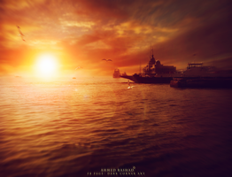 suez canal by Ahmed-Rashad-Art