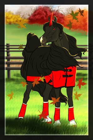 The Black Stallion | November Prompt by Candy-Skull-Foxes
