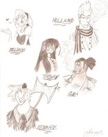 APH Characters 1 by joyhorse13
