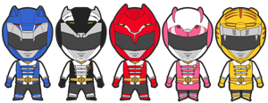 Cast For Sentai Seies/ Alt for Go-Busters adapt by BLADEDGE