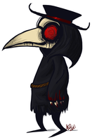 Plague Doctor by DisforDelirium