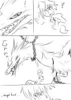 Rayman doodle comic:meet Dragon by amberday