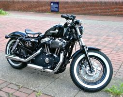 HD Sportster '48' by cmdpirxII