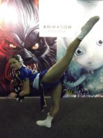 Chung Li Cosplayer at Armageddon Auckland by AnimationCollegeNZ