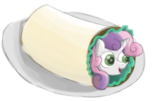 Sweetie Burrito by Sharkwellington