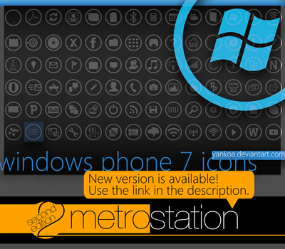 Windows Phone 7 Icons by yankoa