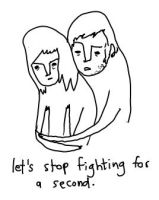 let's stop fighting. by boobookittyfuck