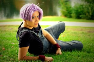 Trunks Movie Battle of Gods Cospay by Caydance