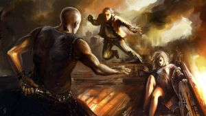 rooftop fight by Odysseus-XB