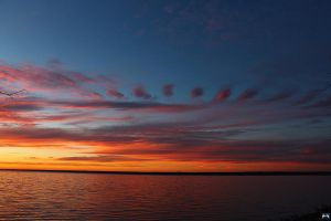 Fall Sunset Series #74 by LifeThroughALens84