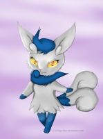 Meowstic by Ichigo-Star
