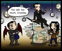 Where The Hell Was Crowley III SPOILERS by blackbirdrose